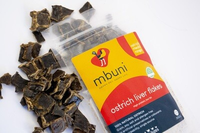 Ostrich Liver Flakes