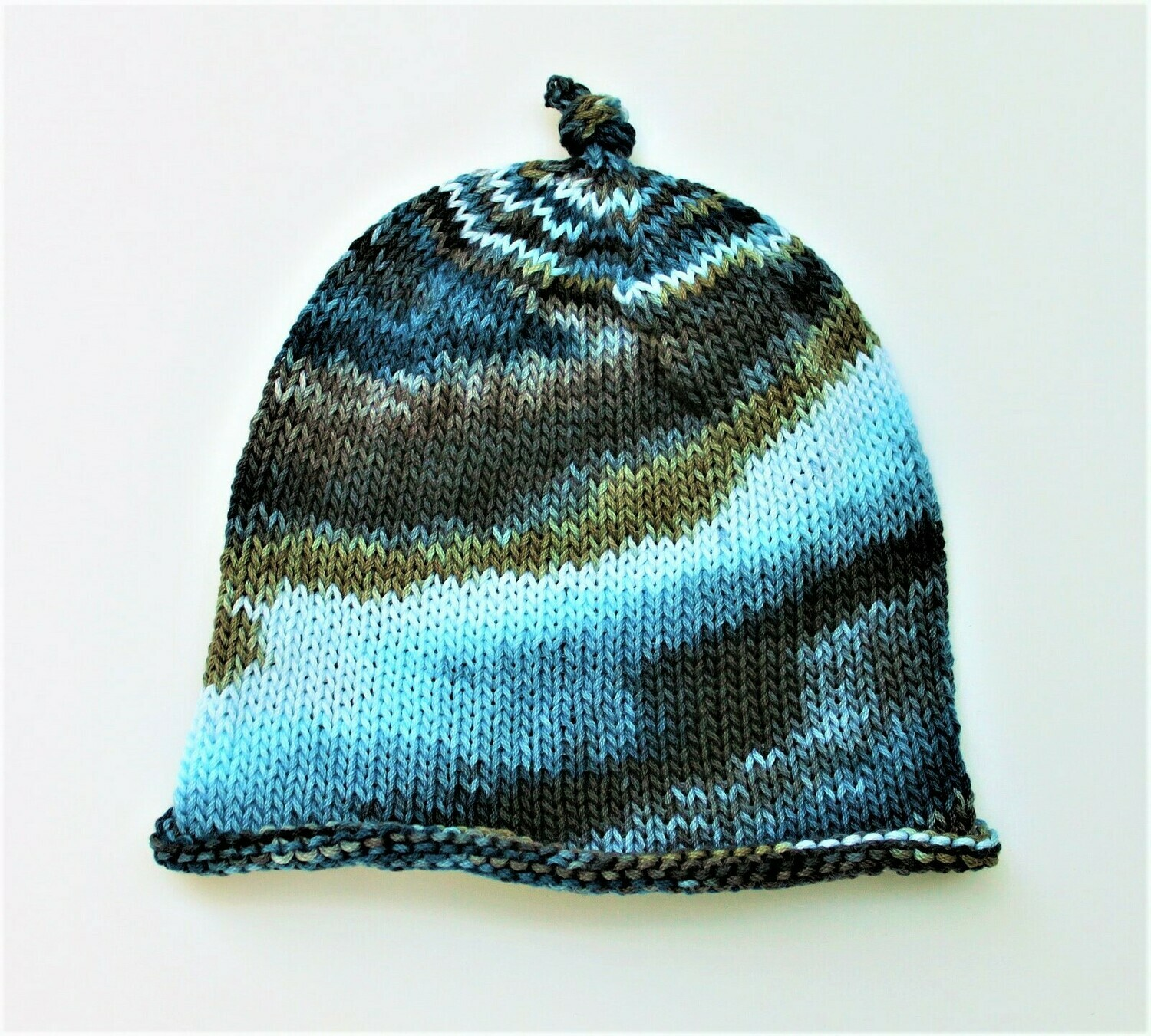 Tie Dyed Baby Hat