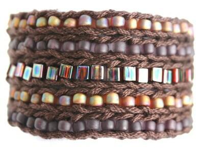 LuLi Bracelet Kit - TRUFFLE (browns and copper)