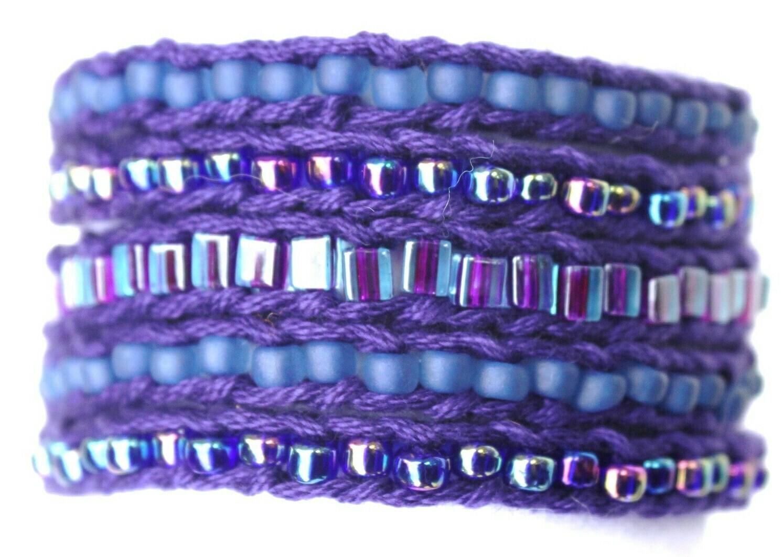 LuLi Bracelet Kit - AMETHYST (purples and blues)