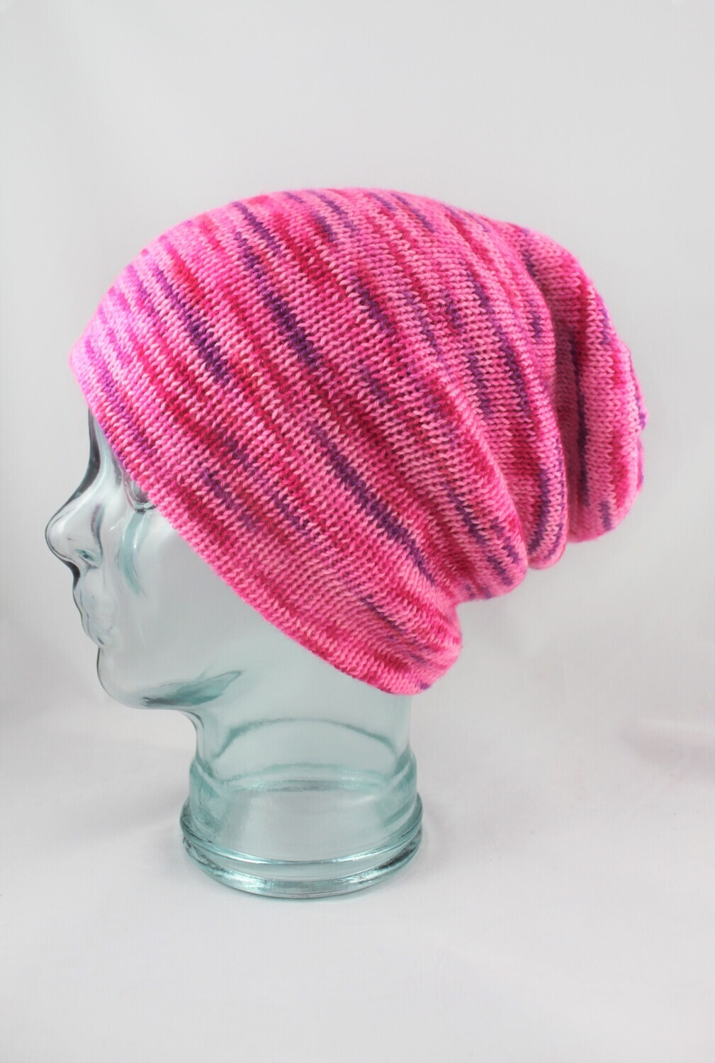 """""""Magic Hat"""" in Hot Pink with purple speckles"""