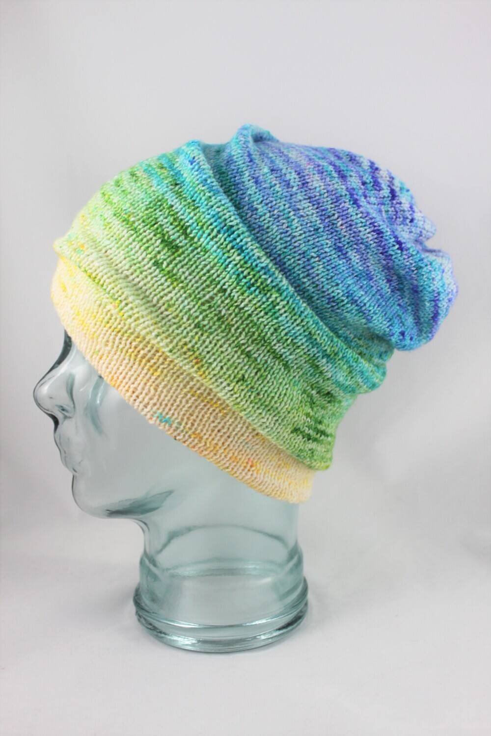 """""""Magic Hat"""" in a pastel neon Rainbow Ombre"""
