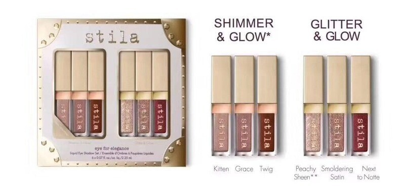 Stila Shimmer and Glitter Liquid Eyeshadow Travel Set