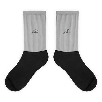 Black Foot Sublimated Socks - L
