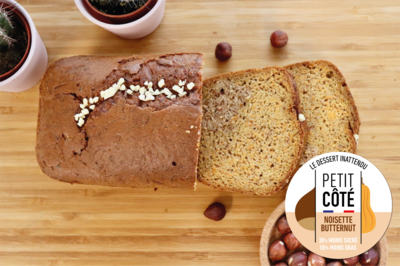 Gamme hiver : Gâteau à la Noisette et à la courge Butternut (6/8 pers)