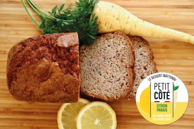 Gamme hiver : Gâteau au Citron et Panais Hivernal (6/8 pers)