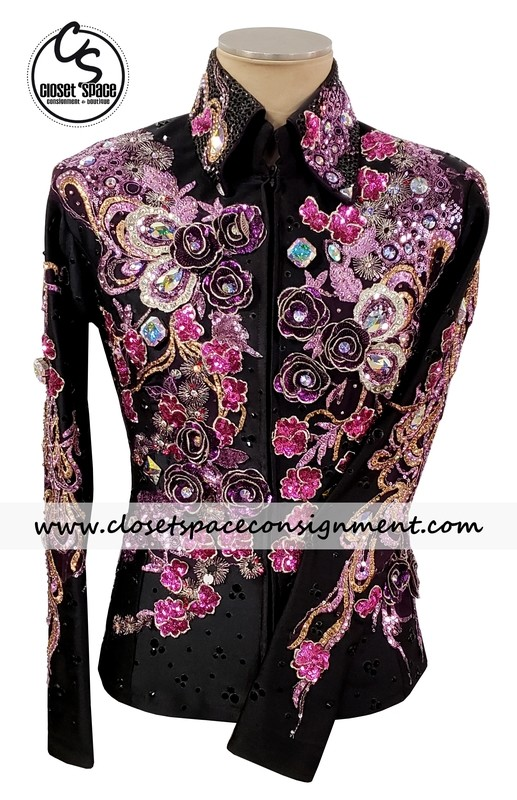 ​Black, Gold, Purple & Pink Jacket