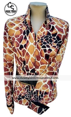 Giraffe Print Jacket