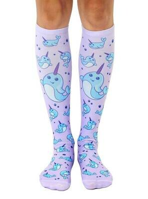Narwhal Knee High