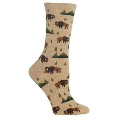 Women's Hemp Bison Socks