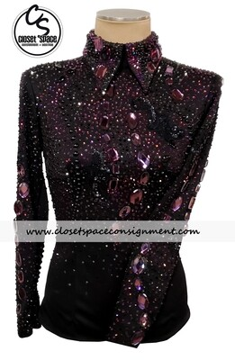 ​Black & Purple Horsemanship Top