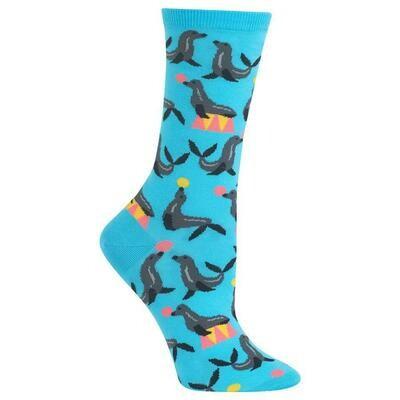 Women's Aqua Seals Socks