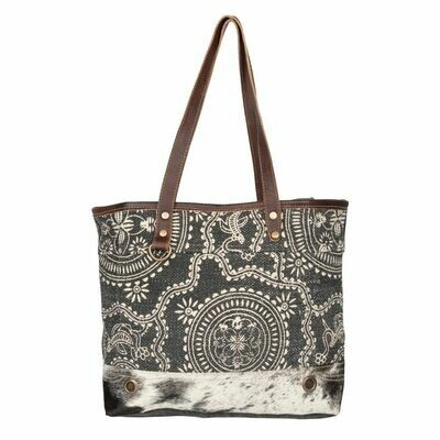 Blue Eternity Tote Bag
