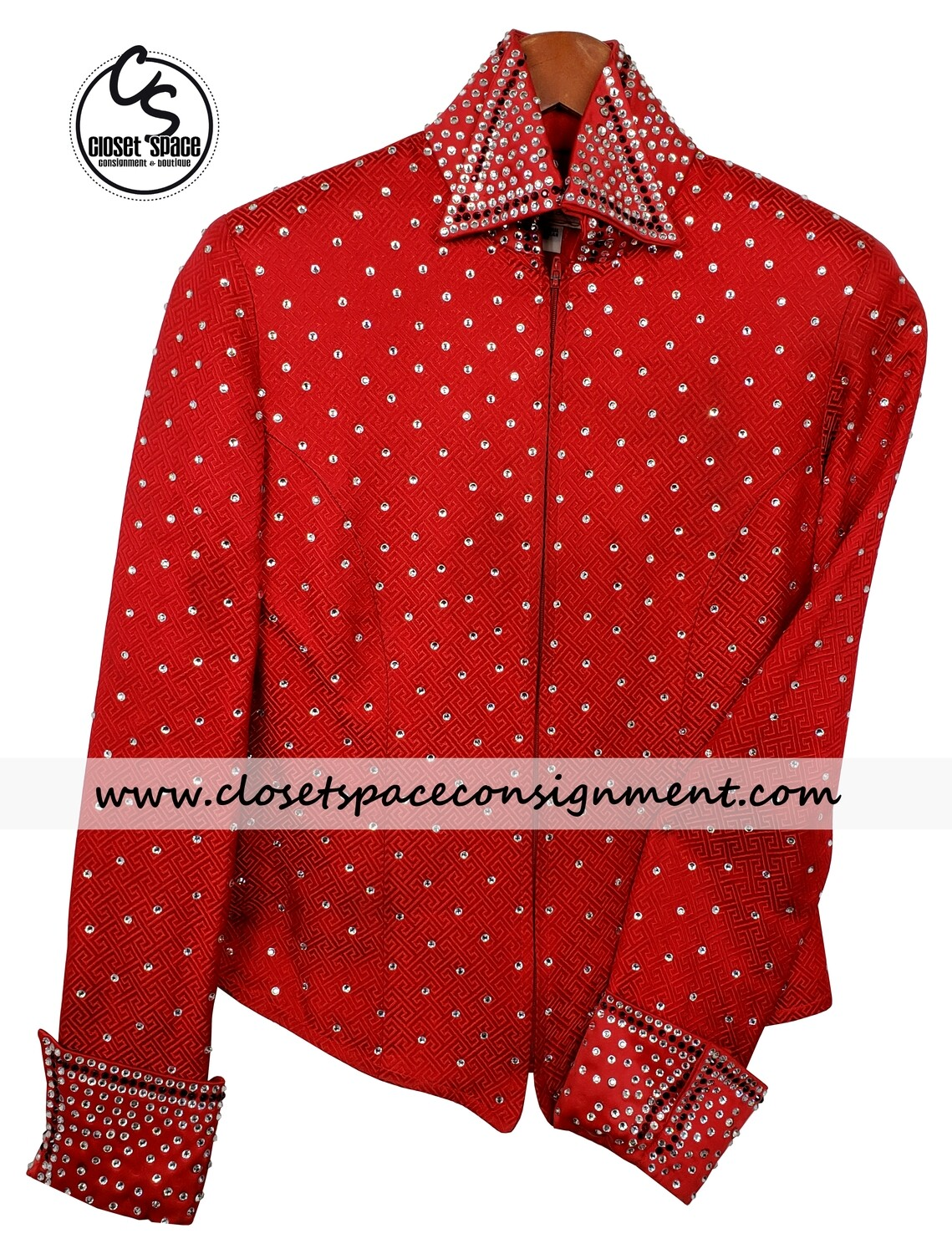 'Showing Fashions' Red Jacket
