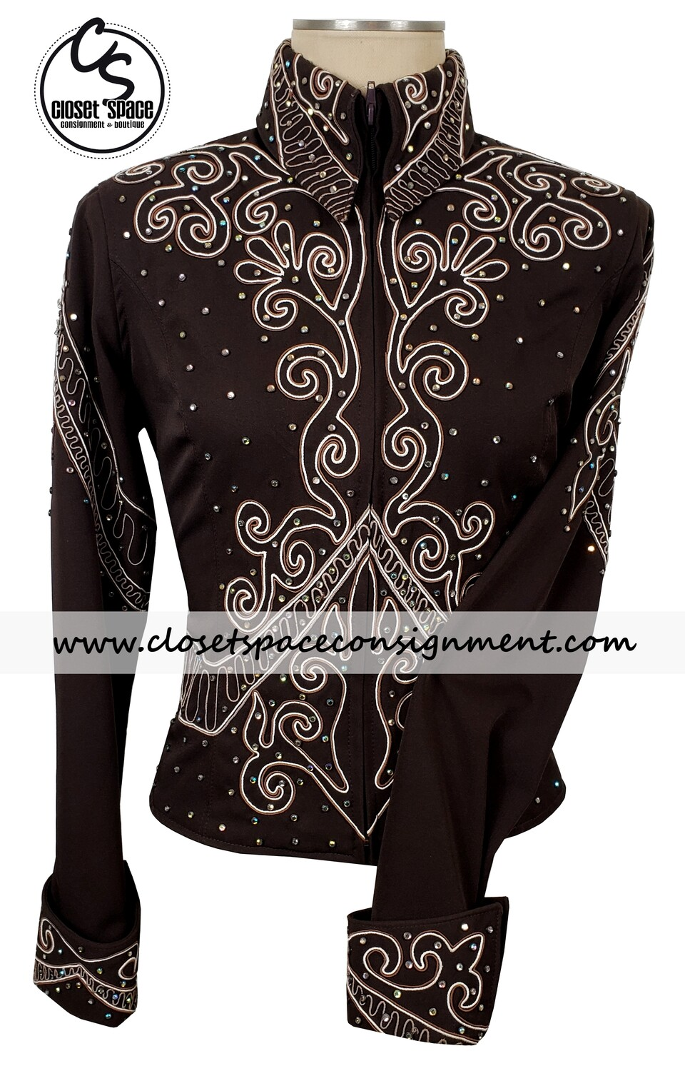 ​'Wire Horse' Chocolate Shirt