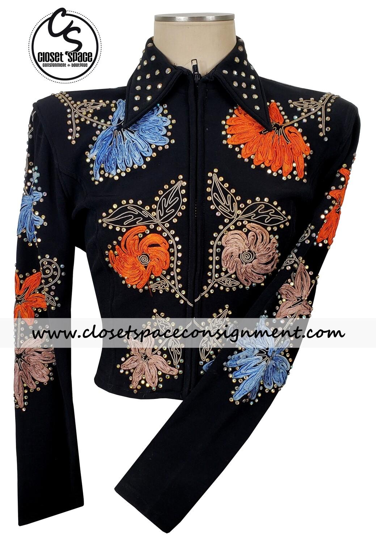 'Two Creeks' Black & Multi Color Floral Shirt