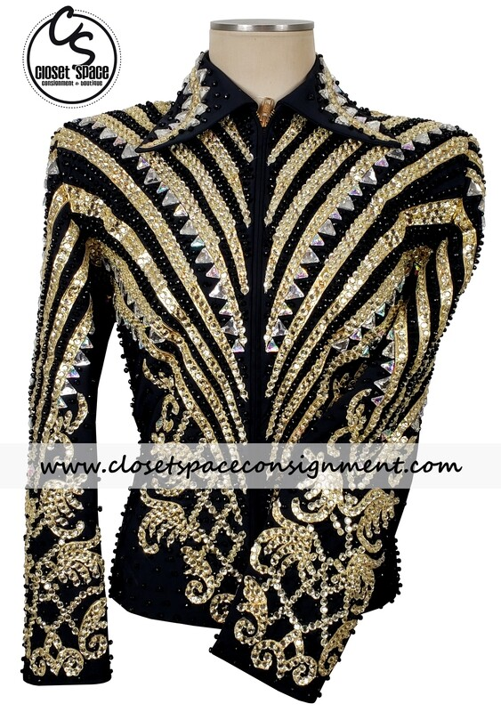 ​Black & Gold Jacket - NEW