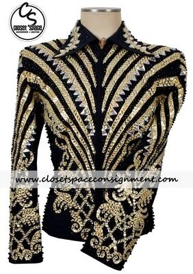 Black & Gold Jacket - NEW