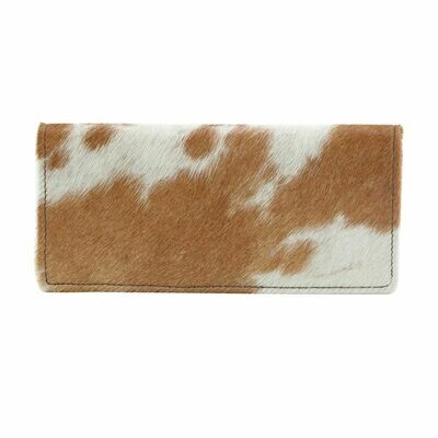 Cat Fight Leather Hairon Wallet