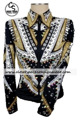 Black, Gold & White Jacket