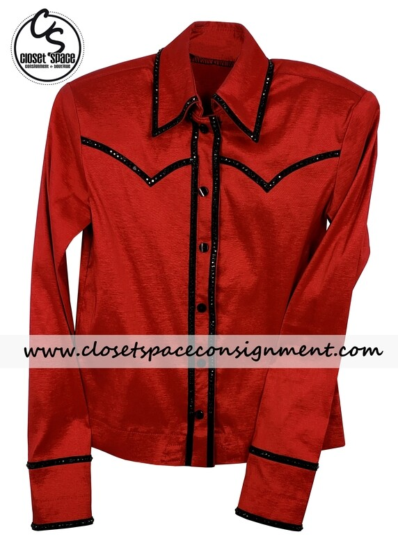 ​'On Pattern Designs' Red & Black Shirt