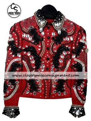 Red & Black Jacket