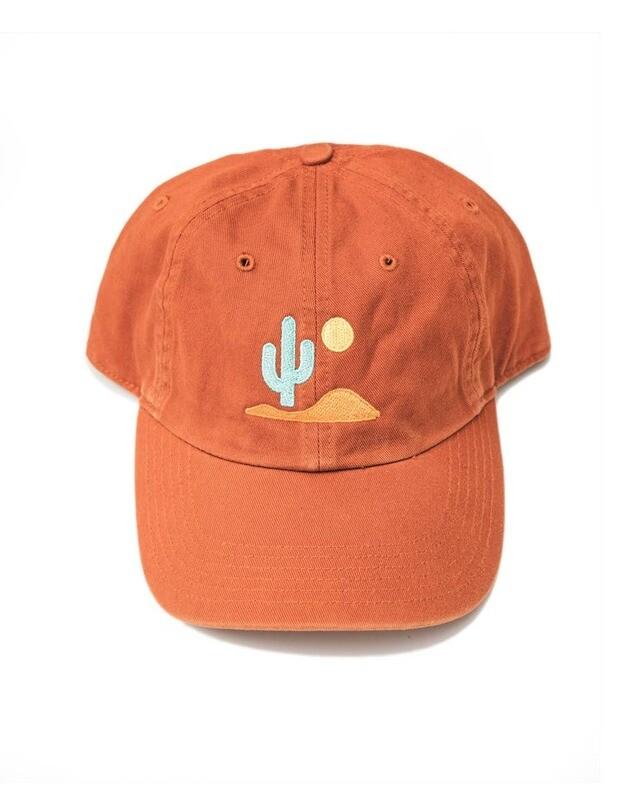 Lone Cactus Hat - Burnt Orange