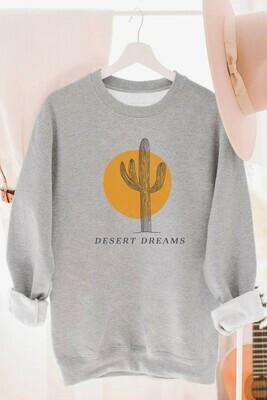 Heather Grey Desert Dreams Sweatshirt