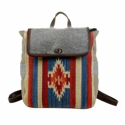 Flaming Amber Backpack Bag