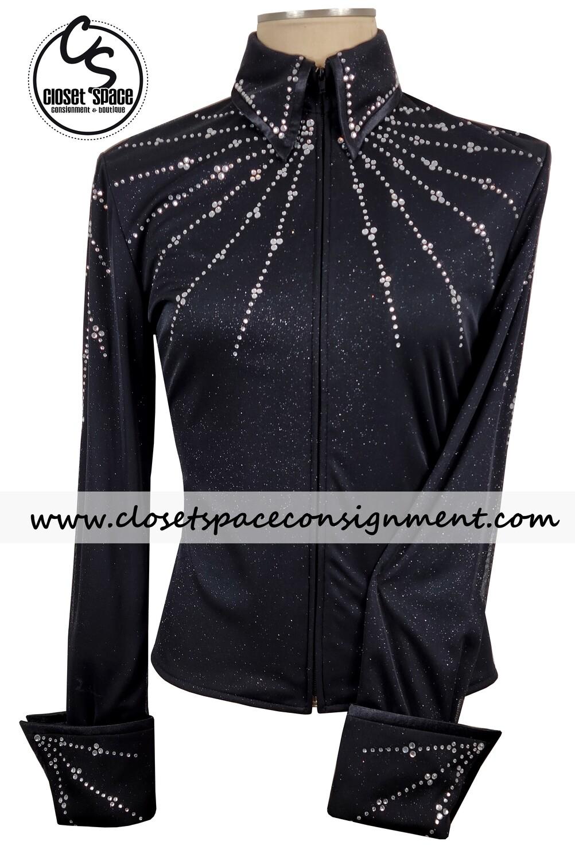 'Rod's' Black Stoned Shirt