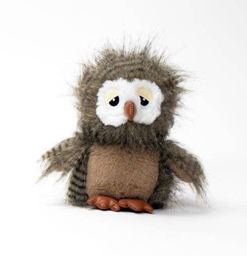 Fuzzy Owl - Dog Toy