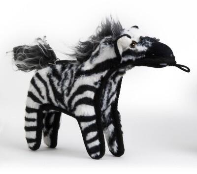 Zebra - Dog Toy