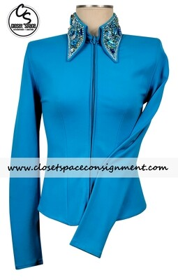 'Deb Moyer' Turquoise Shirt