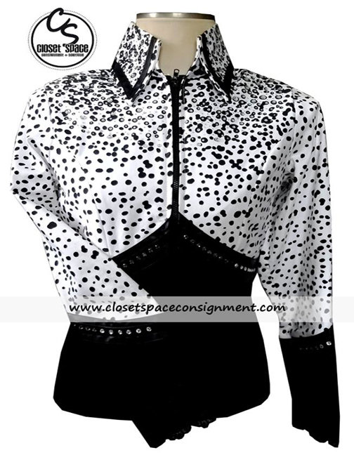 Black & White Animal Print Jacket
