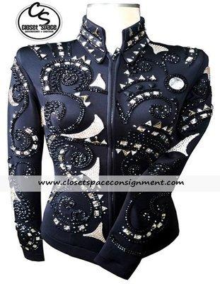 'Marilee's Designer Show Apparel' Black & Silver Set