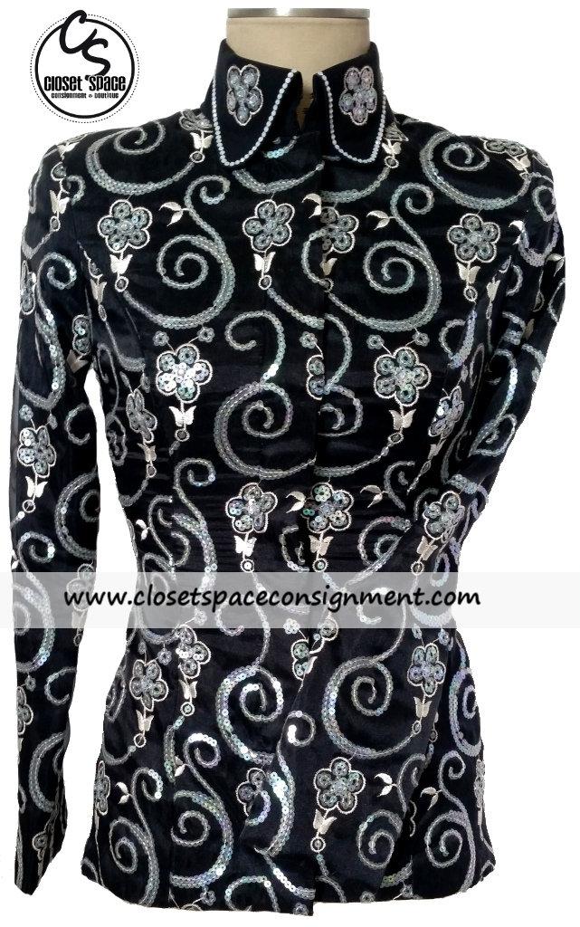 'Shari Voeltz' Black & Silver Showmanship Set
