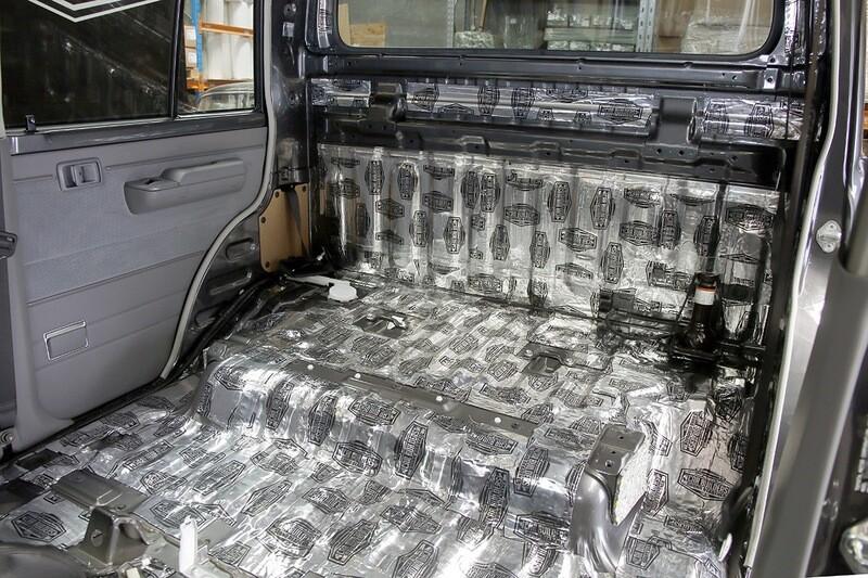 4x4 DUAL CAB Sound Deadening DIY Kit