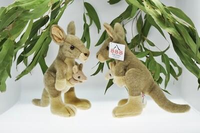 Kangaroo 23cm plush