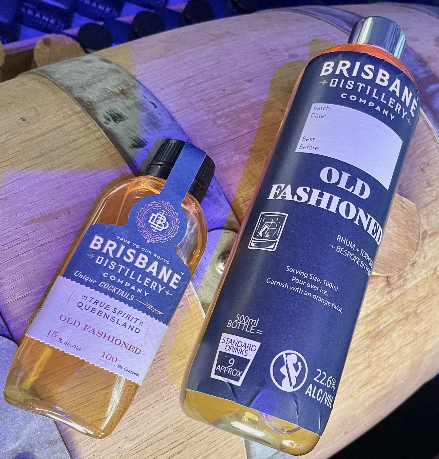 Old Fashioned 100ml or 500ml