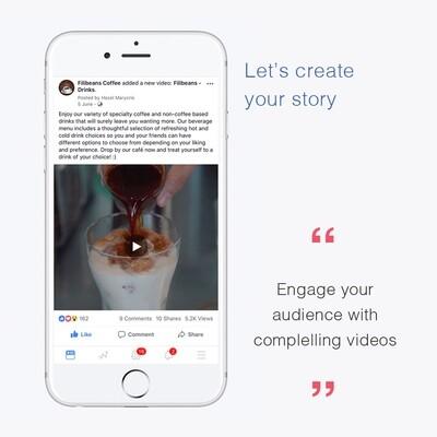 Social Media Video Ad Content Creation