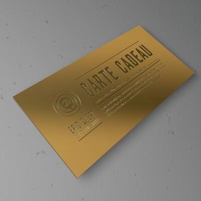 CARTE CADEAU GOLD