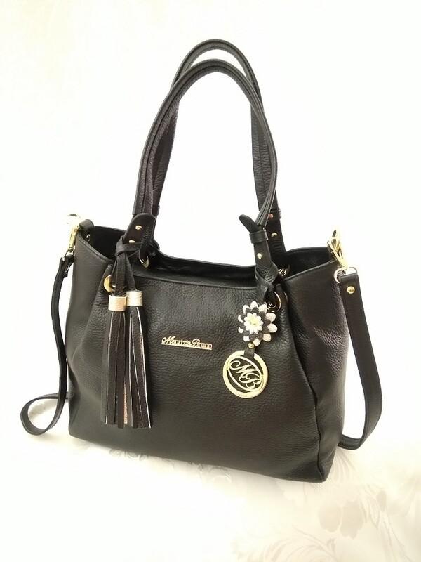 Bag Mod. Diana344 Black  Leather