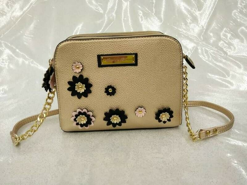 Crossbody EMB198 Eco Leather color Gold