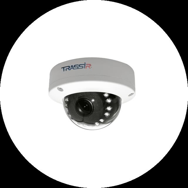 TRASSIR TR-D3121IR1 v4 (2.8 и 3.6 мм)