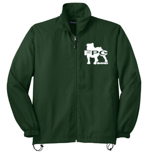 Mens or Ladies BAND LOGO Sport-Tek® Full-Zip Wind Jacket-JST70