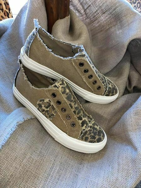 Fun, Stylish Leopard Sneaker