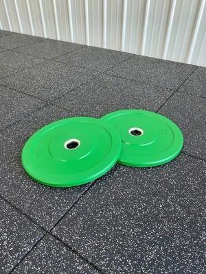 10LB Green Bumper Plates (Pair)