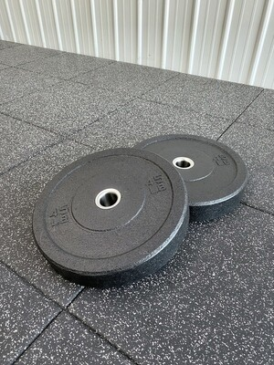 15LB High Impact Bumper Plates (Pair)