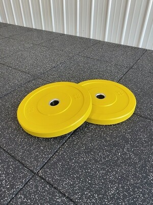 25LB Yellow Bumper Plates (Pair)