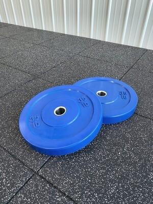 35LB Blue Bumper Plates (Pair)